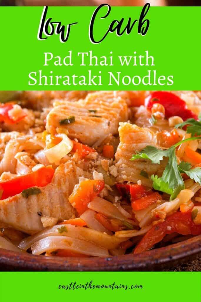 Low Carb Pad Thai with Shirataki Noodles (3)