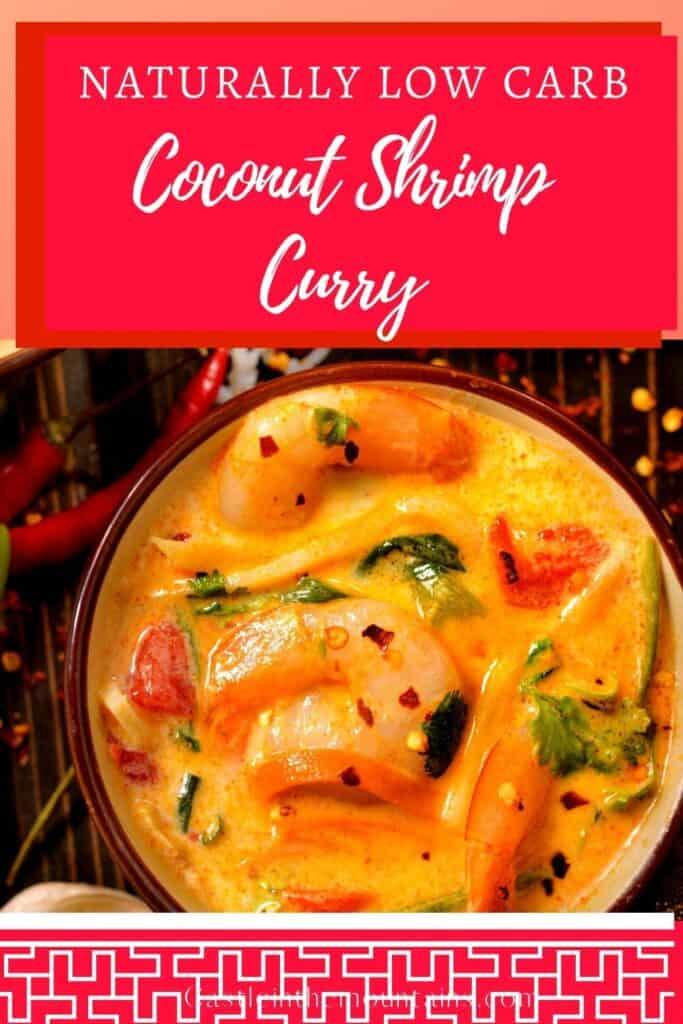 Low Carb Thai Coconut Shrimp Curry (1)