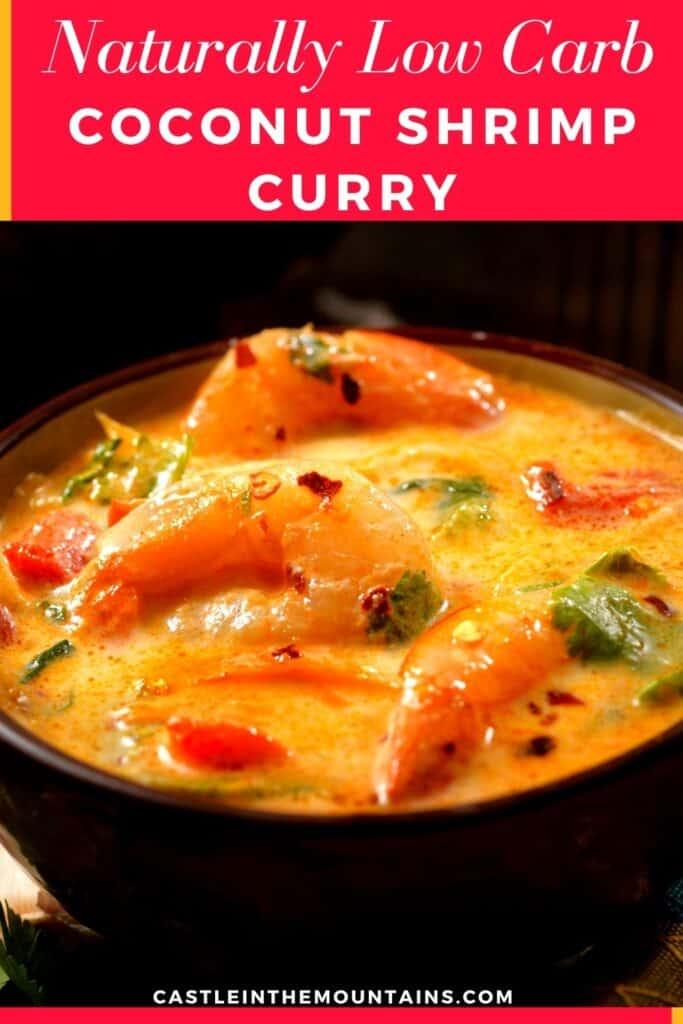 Low Carb Thai Coconut Shrimp Curry (2)