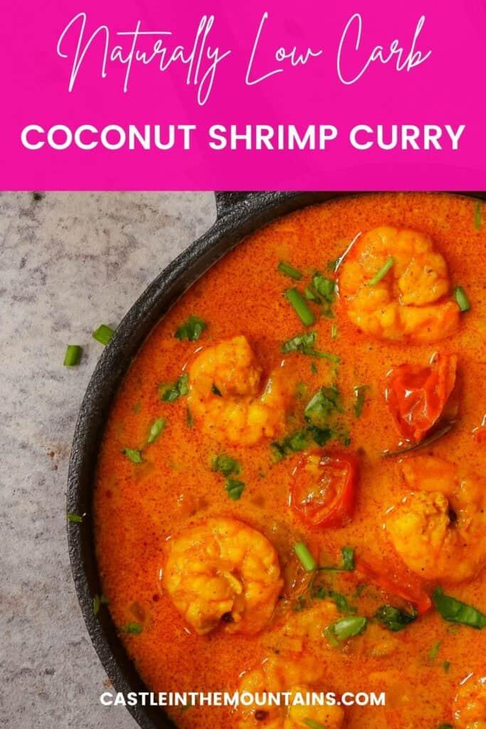 Low Carb Thai Coconut Shrimp Curry (4)