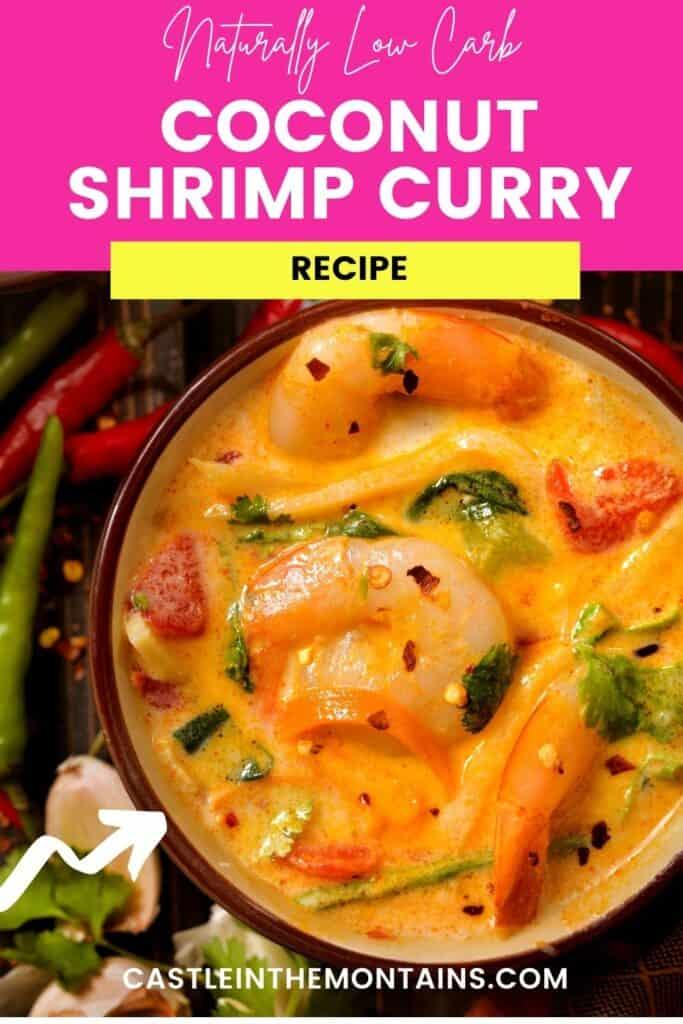 Low Carb Thai Coconut Shrimp Curry (5)