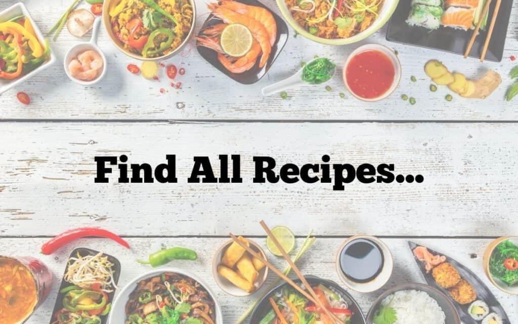 All recipes navigation image