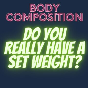 Body Composition Set Weight FI