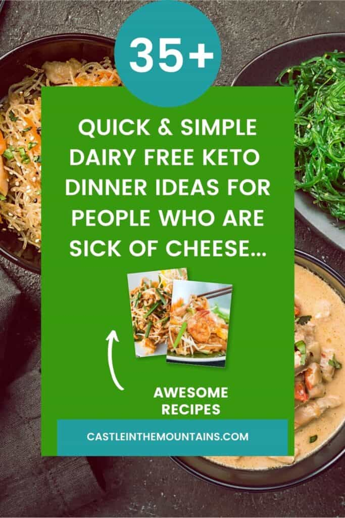 Dairy Free Keto Dinner Ideas Pins (1)