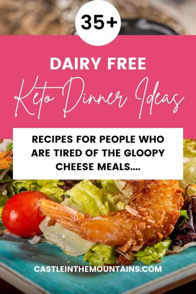 Dairy Free Keto Dinner Ideas Pins (2)