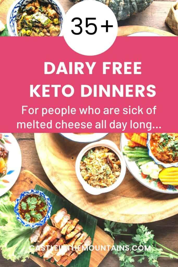 Dairy Free Keto Dinner Ideas Pins (3)