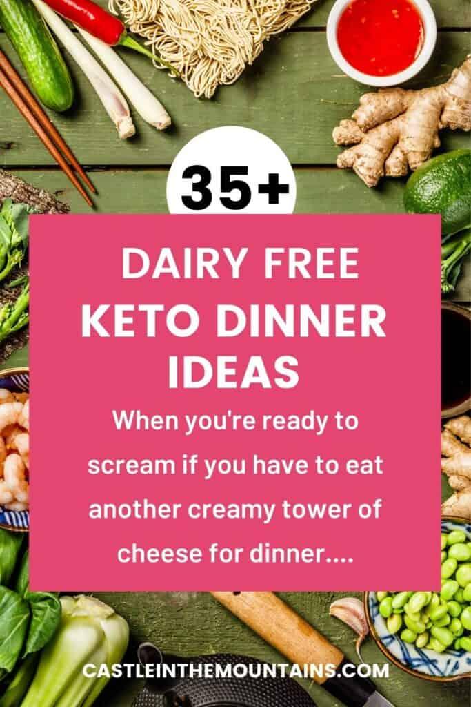 Dairy Free Keto Dinner Ideas Pins (5)