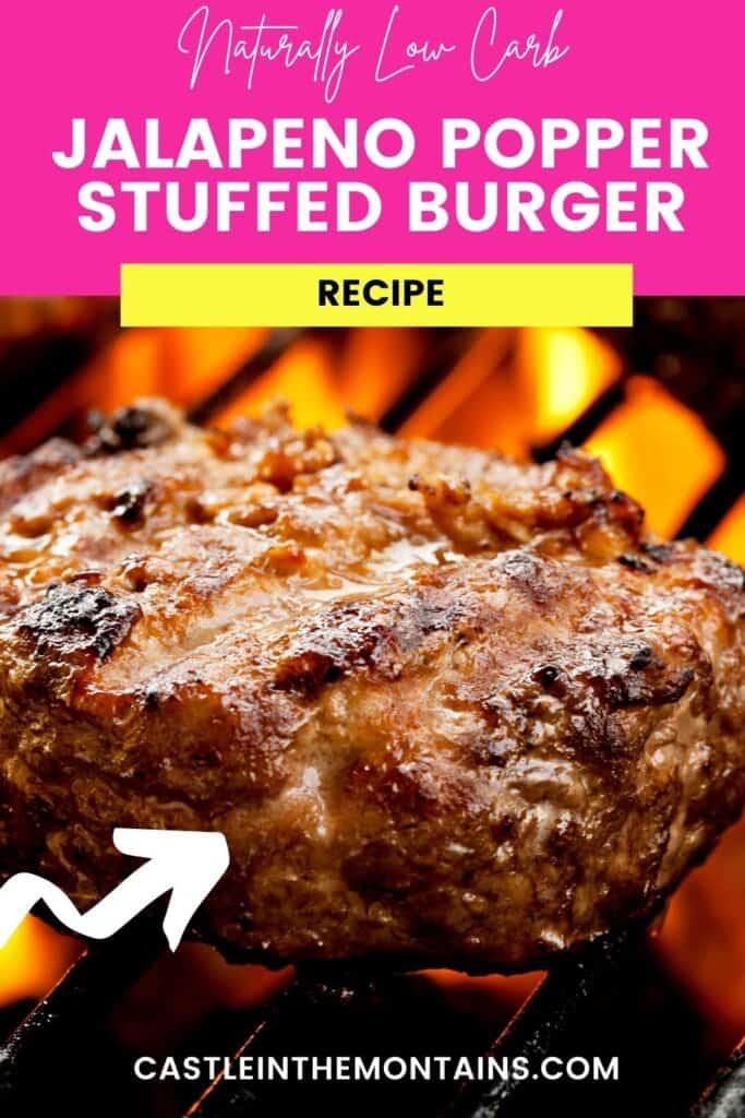 Jalapeno Popper Stuffed Burger Pins (5)