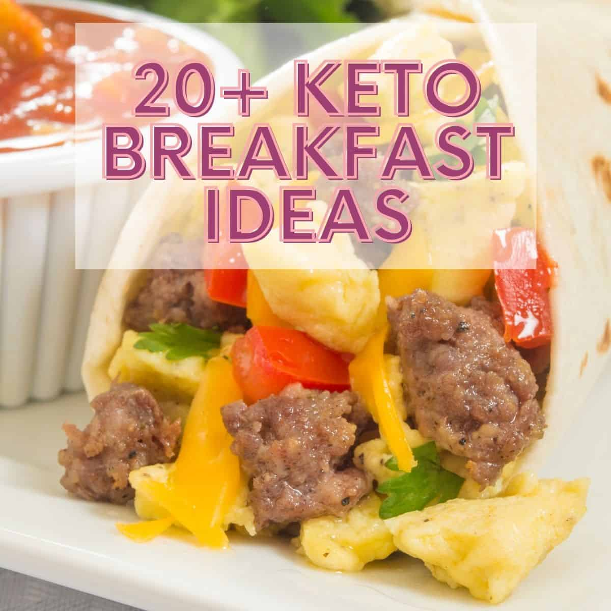 Keto Breakfast Ideas FI