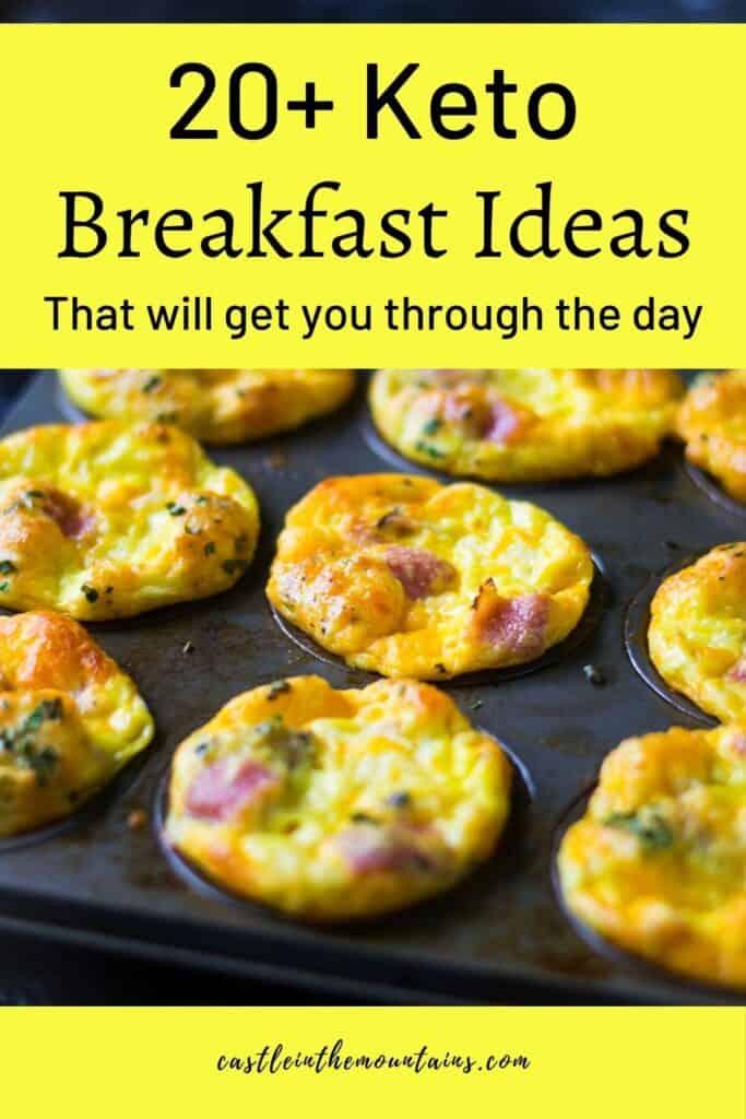 Keto Breakfast Ideas Pins (3)