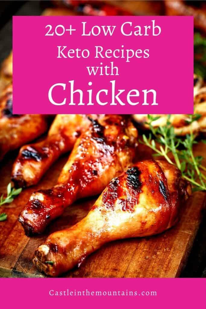 Keto Chicken Recipes Pins (3)