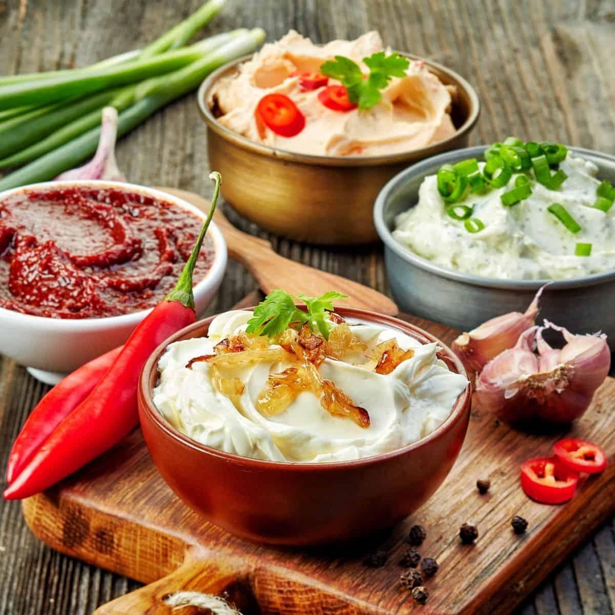 Keto Dressing, Dip and Sauce Recipes