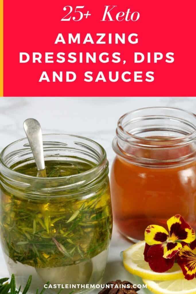 Keto Dressing, Dips & Sauces Pins (2)