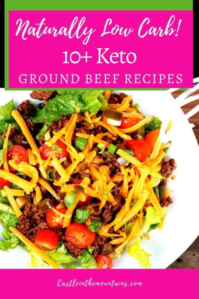 Keto Ground Beef Recipes Pins (1)