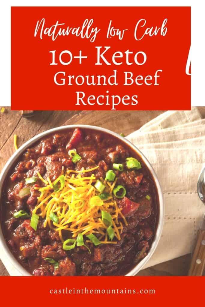 Keto Ground Beef Recipes Pins (3)