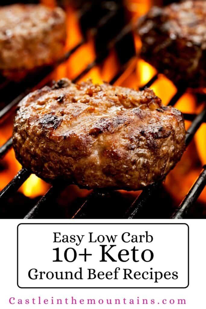 Keto Ground Beef Recipes Pins (4)