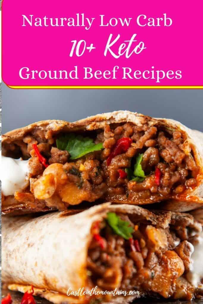 Keto Ground Beef Recipes Pins (5)