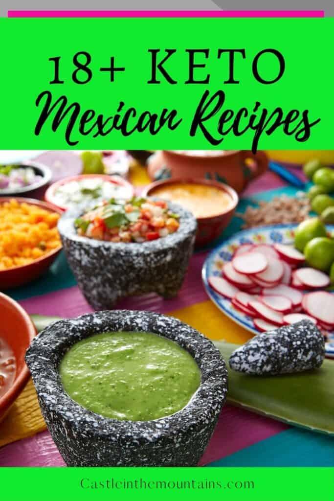 Keto Mexican Recipes Pins (1)