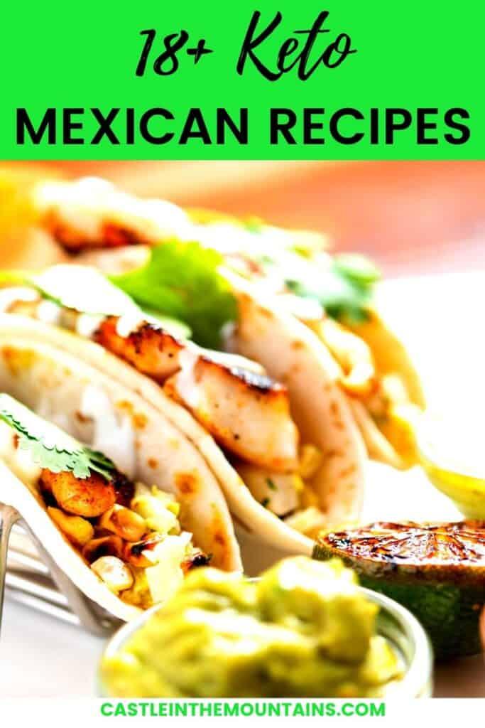 Keto Mexican Recipes Pins (2)