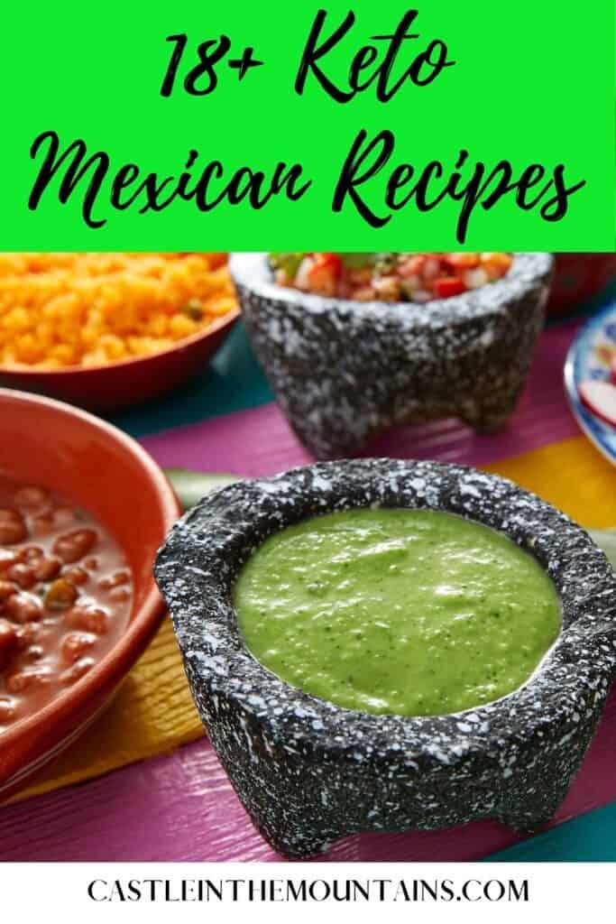 Keto Mexican Recipes Pins (3)