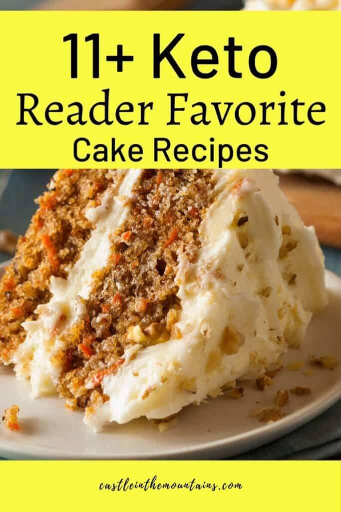 Keto Cake Recipes Pins (3)