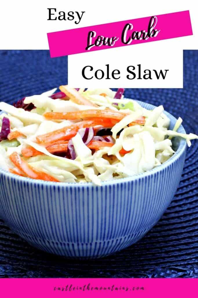 Keto Coleslaw Recipe Pins (3)
