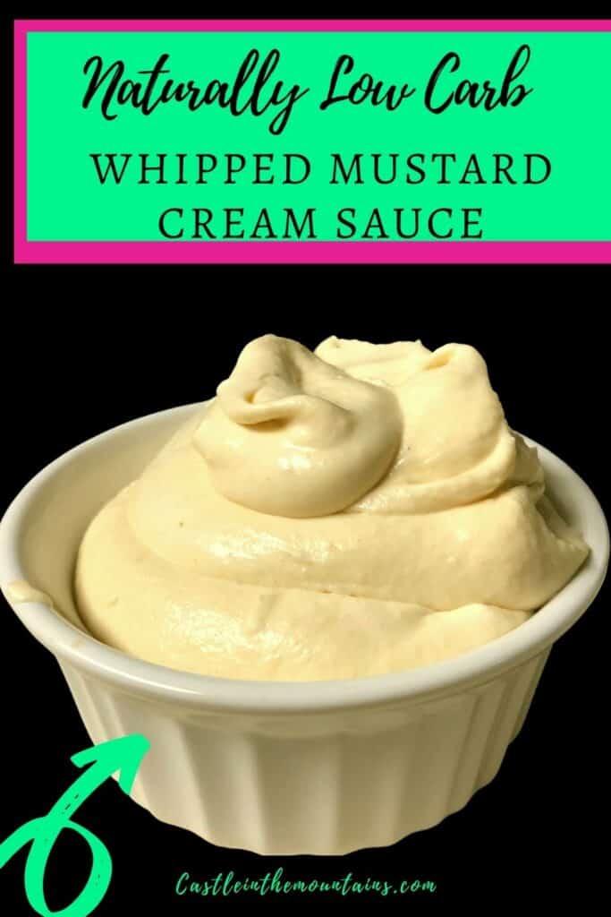 Keto Mustard Whipped Cream Sauce Pins(2)