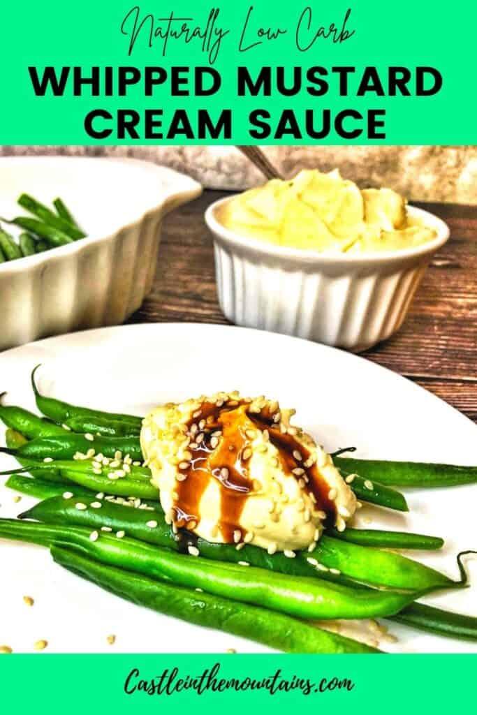 Keto Mustard Whipped Cream Sauce Pins(3)