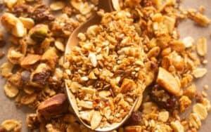 Dry Streusel Ingredients