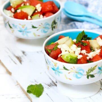 Low Carb Watermelon Salad FI