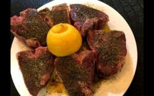 Seasoned Lamb Loin Chops
