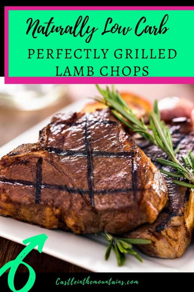 Perfectly Grilled Lamb Chops Pins (2)