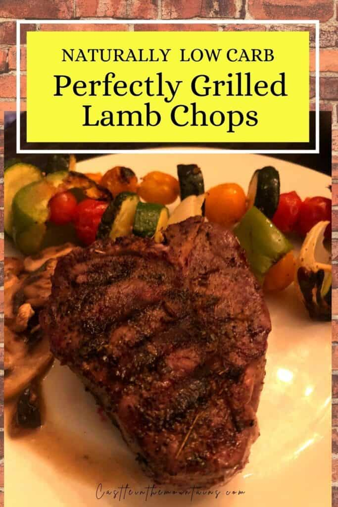Perfectly Grilled Lamb Chops Pins (4)