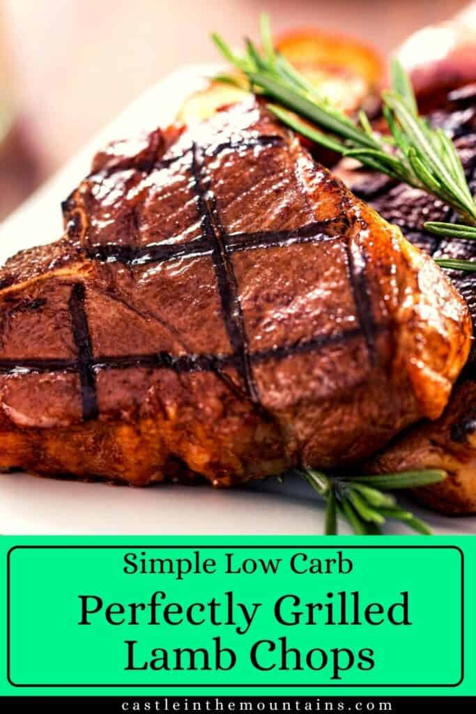 Perfectly Grilled Lamb Chops Pins (5)