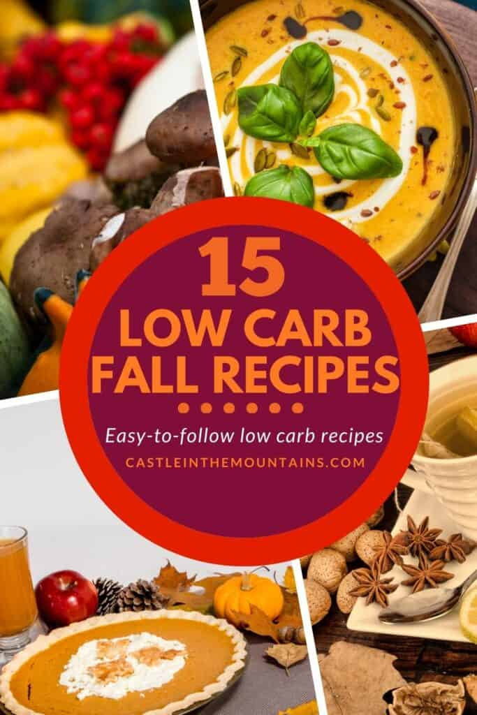 15 Low Carb Fall Recipes Pins (2)