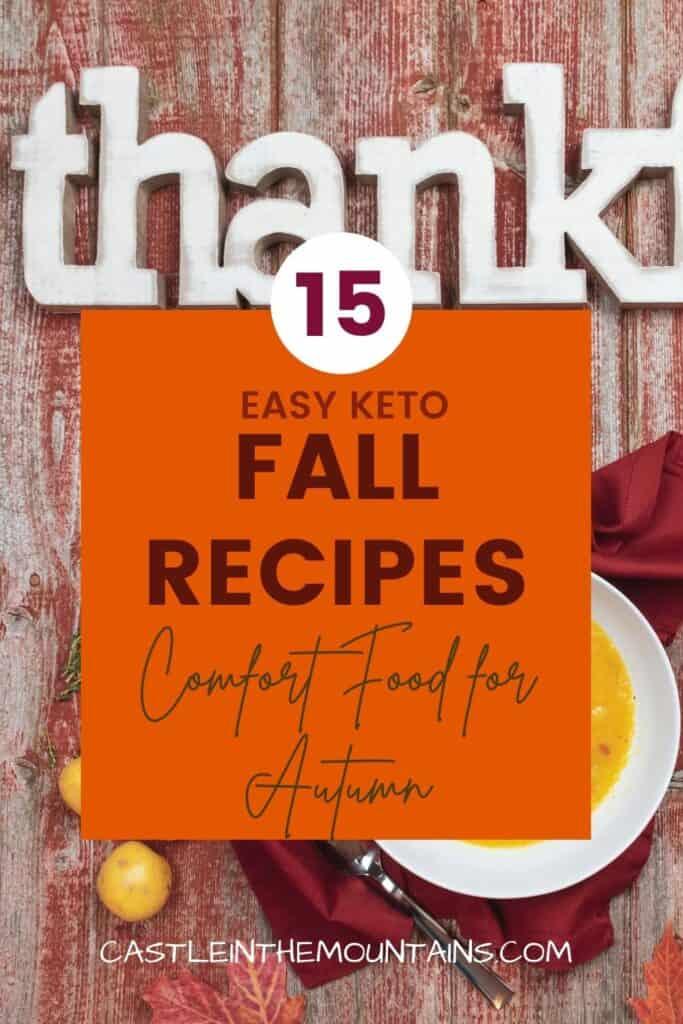 15 Low Carb Fall Recipes Pins (3)