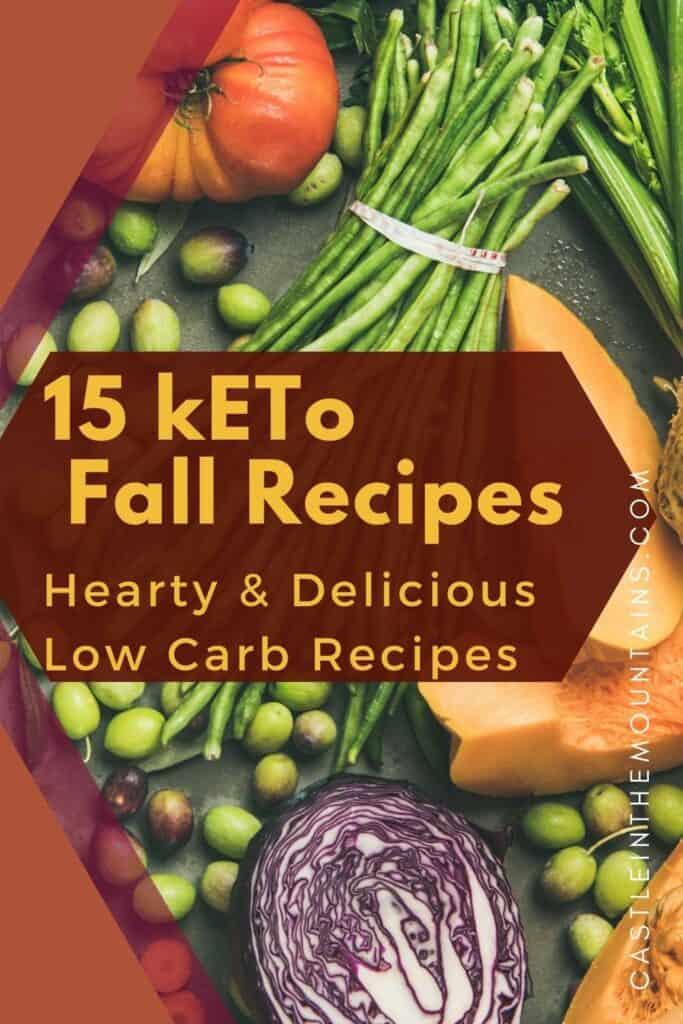 15 Low Carb Fall Recipes Pins (5)