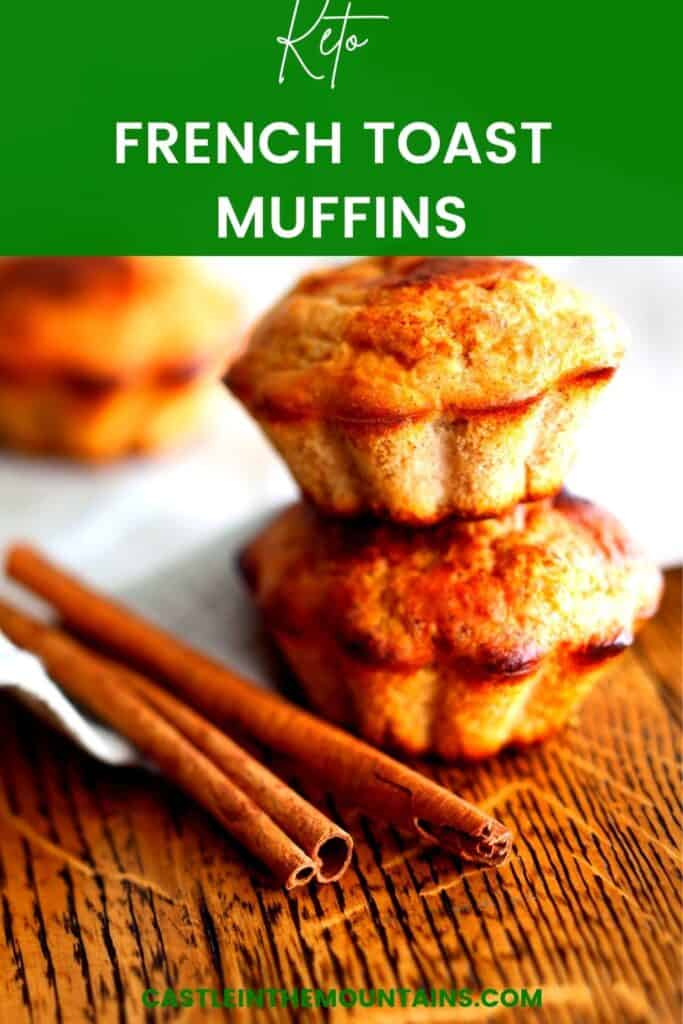 Keto French Toast Muffins Pins (2)