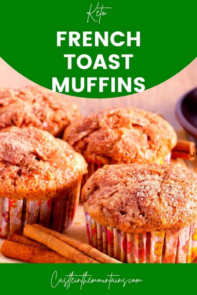 Keto French Toast Muffins Pins (4)