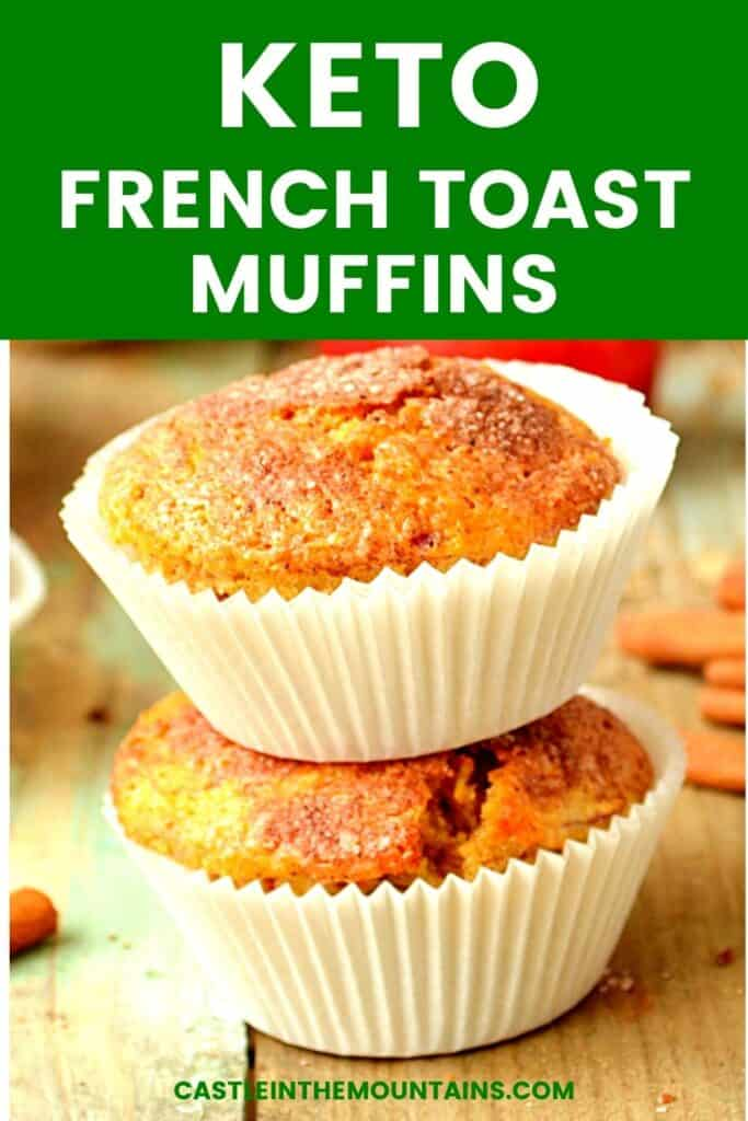 Keto French Toast Muffins Pins (5)