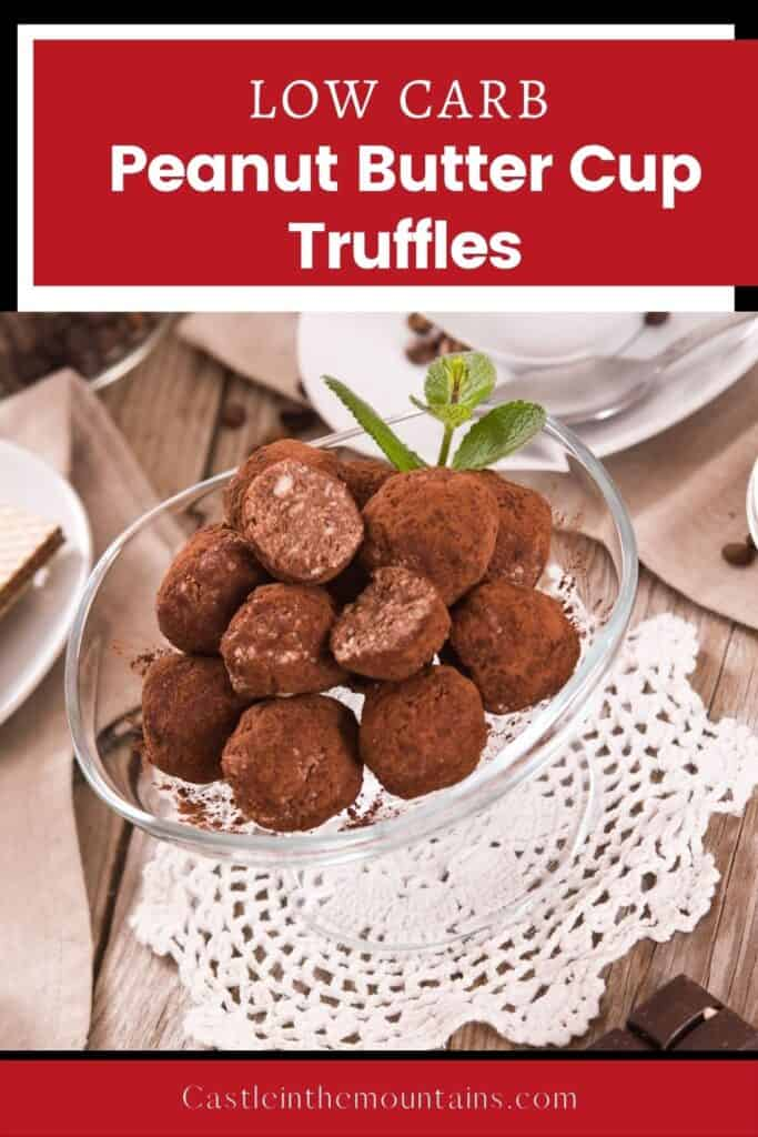 Keto Peanut Butter Truffles Pins (1)