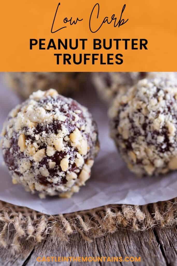 Keto Peanut Butter Truffles Pins (2)
