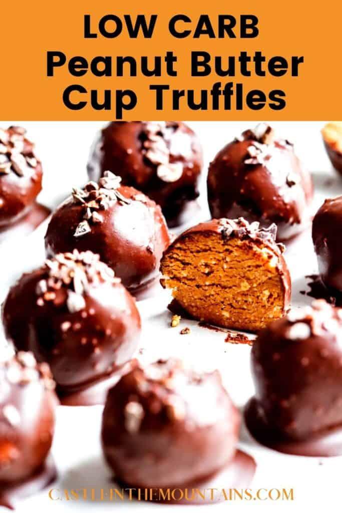 Keto Peanut Butter Truffles Pins (3)