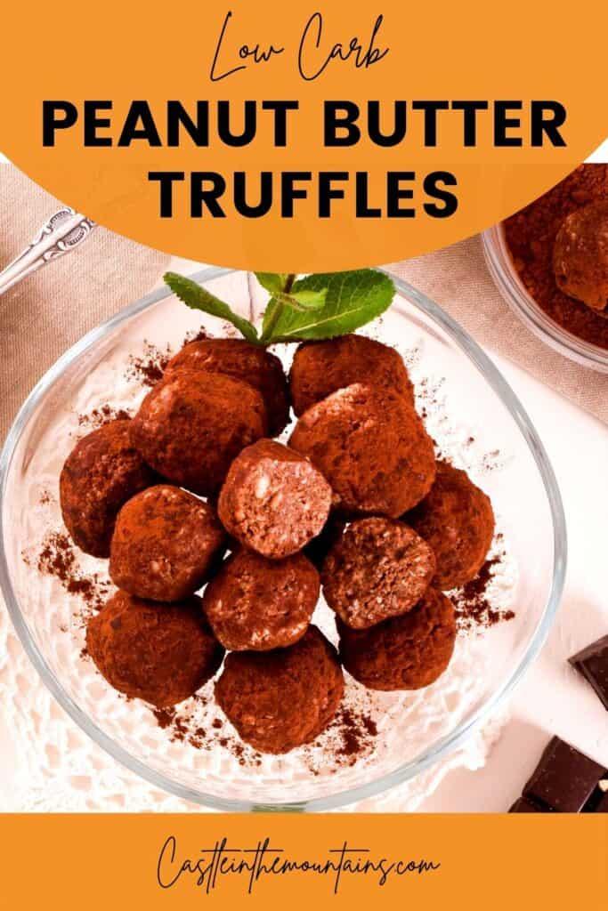 Keto Peanut Butter Truffles Pins (4)