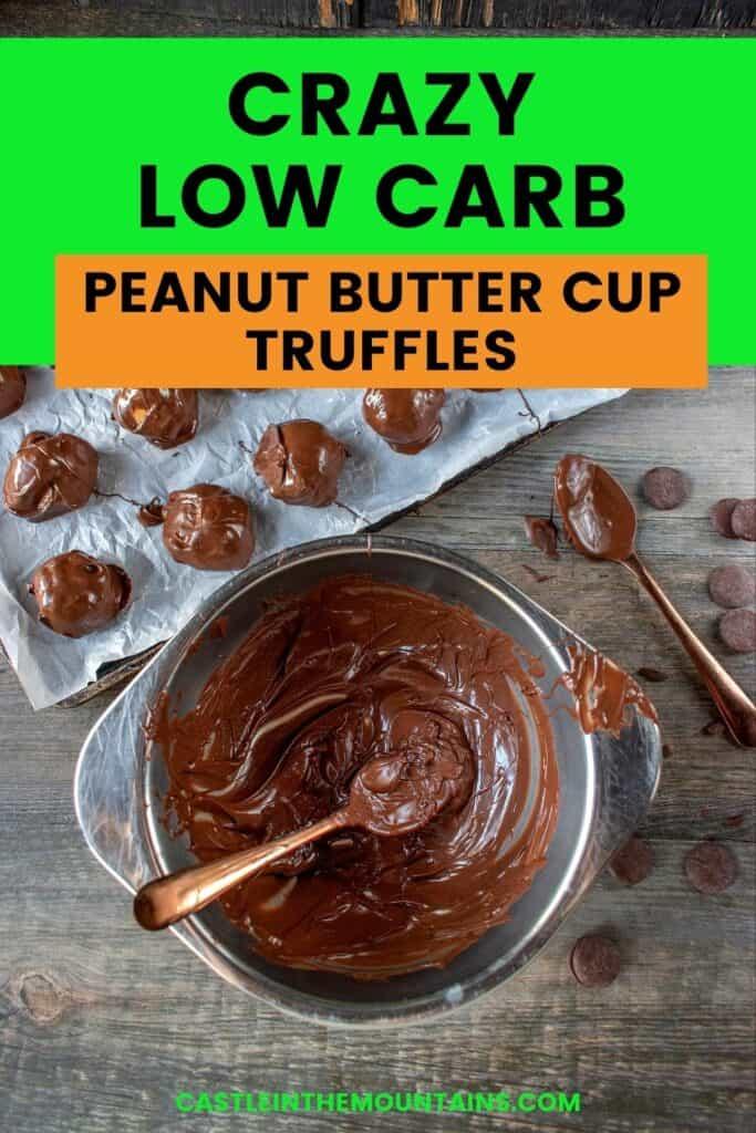 Keto Peanut Butter Truffles Pins (5)