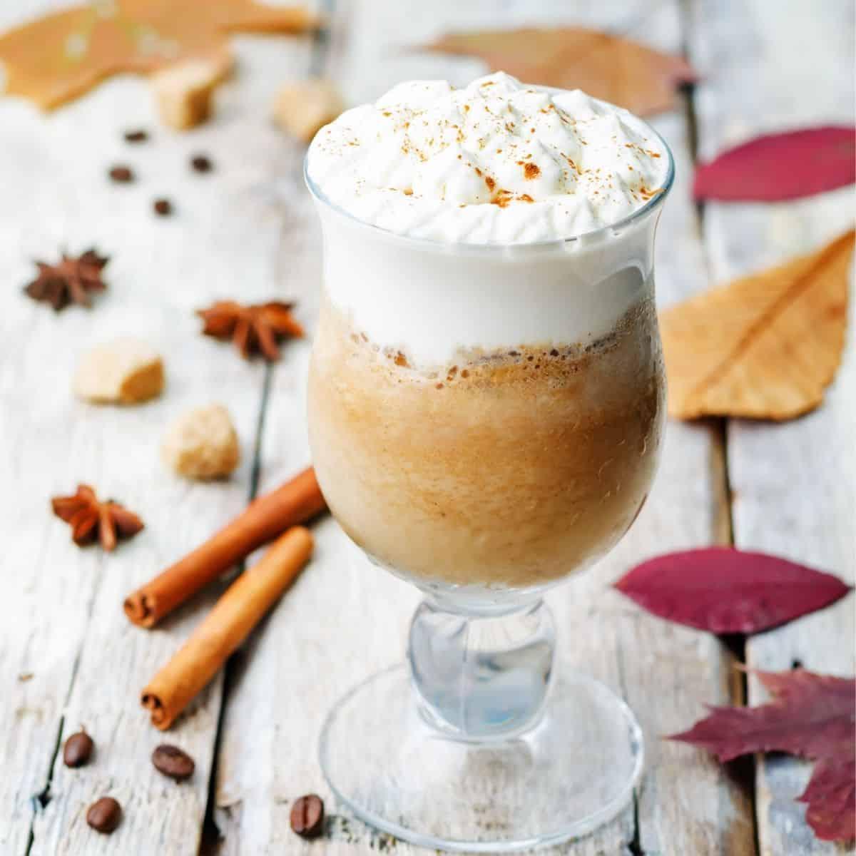 Keto Pumpkin Frappuccino FI