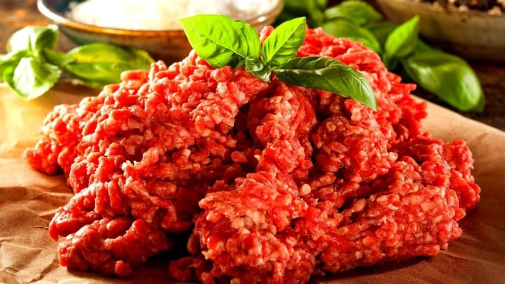 Ground Beef as an example of what to use