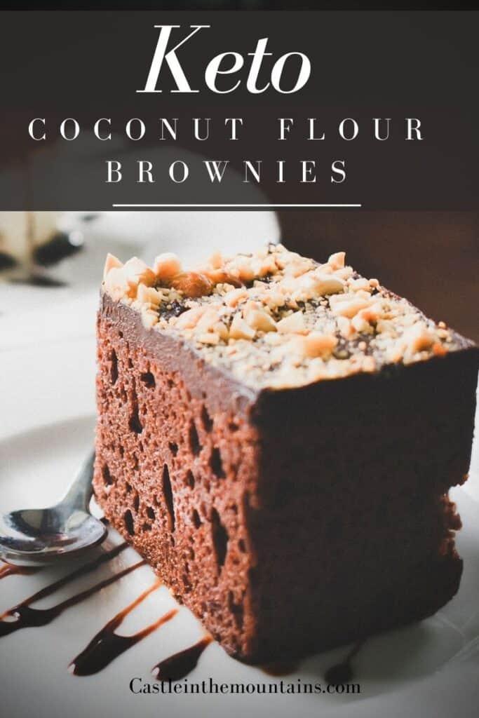 Keto Coconut Flour Brownies Pins (3)