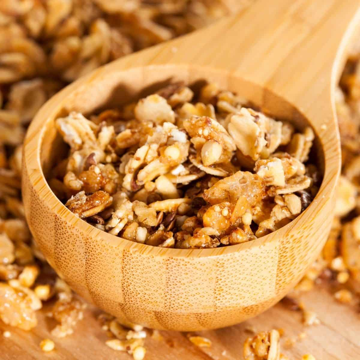 Keto Cereal with nuts and seeds