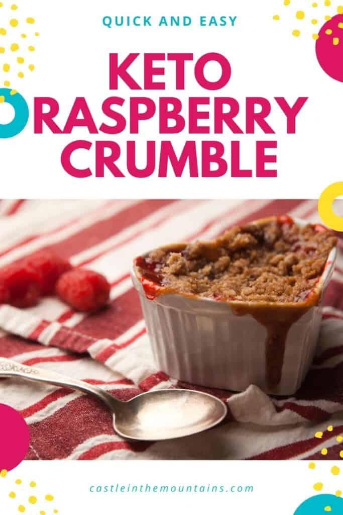 Keto Raspberry Crumble Pins (2)